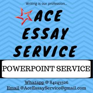 PowerPoint 💻                                           Essay assignment
