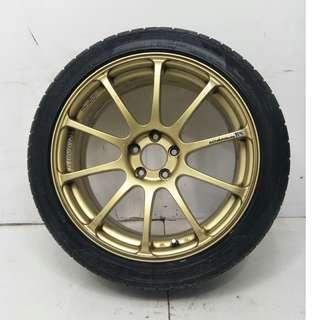 17 '' Sport Rim With Tyre 5x100 (SR830)