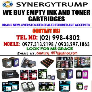 BUYER OF EMPTY INK AND TONER CARTRIDGES
