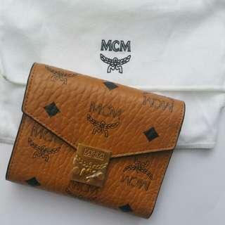 MCM 全新經典銀包
