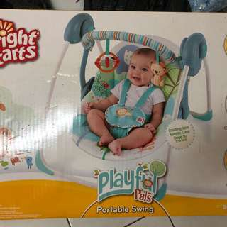 Brightstar playful pals swing