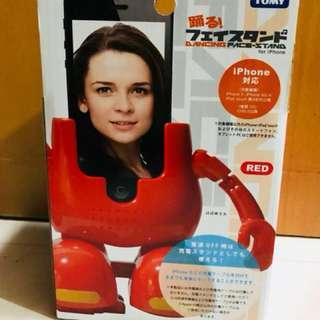 日本 大熱 跳躍電話座 IPhone Dancing Face Stand
