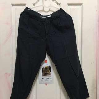 Net七分薄棉褲
