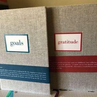 Goals & Gratitude journal