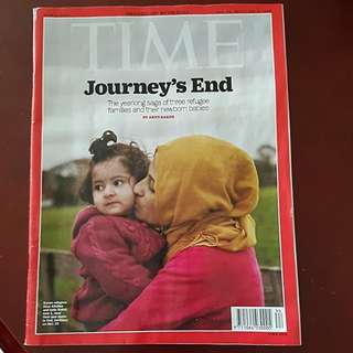 OFFER!!!TIME journey's end. Other issues are also available!!