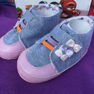 Baby girl Fabric shoes