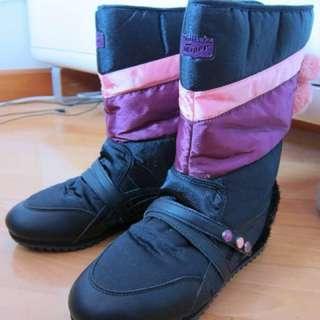 清清清 日本潮牌 onitsuka tiger 雪靴