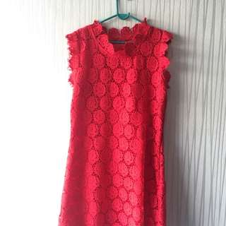 Used dress M size