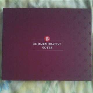SG50 Commemorative Notes cover