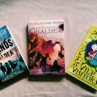 Diana Wynne Jones' books for sale