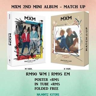 PRE-ORDER MXM (BRANDNEW BOYS) 2ND MINI ALBUM - MATCH UP