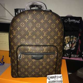 Customer's purchased. Louis Vuitton Josh Backpack