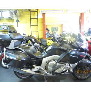 BMW K1600GTL 2013 D/P $1500 or $500 With Out Insurance  (Terms and conditions apply. Pls call 67468582 De Xing Motor Pte Ltd Blk 3006 Ubi Road 1 #01-356 S 408700.