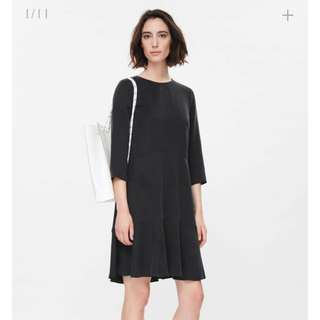 COS 'Circle-cut' dress