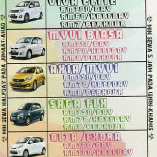 Car Rental Nilai & Sepang