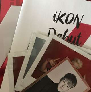 IKON FULL DEBUT WELCOME BACK ALBUM
