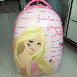 Barbie luggage bag