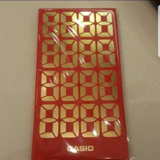 Brand New Casio Red Packet 2018