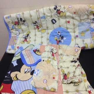 Comforter set for baby crib