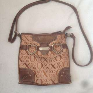 XOXO brown sling bag