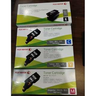 Fuji Xerox Toner Cartridge CM205 CM215 CP105 CP205 CP215 full set