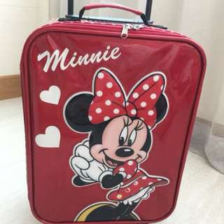 Luggage Minnie Mouse