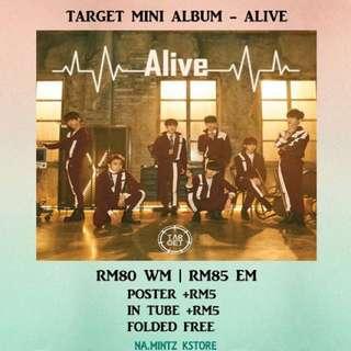 PRE-ORDER TARGET MINI ALBUM - ALIVE