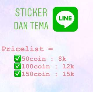 TEMA DAN STICKER LINE ( themes & sticker)