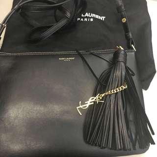 YSL  Saint Laurent Paris  手袋 包包 黑色 全新