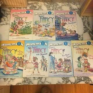 Fancy Nancy Book Set of 7 Books