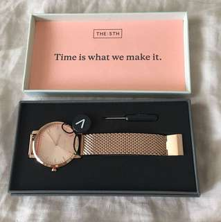 The 5th watches Rosegold