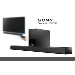 Sony Sound Bar Model HT-CT80. Bluetooth Connectivity.Home Theater USB Support
