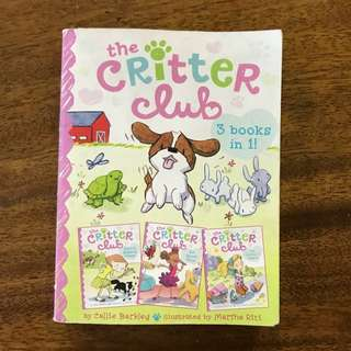 FREE MAIL!! The Critter Club 3 Books in 1