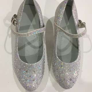 Girls Glittering Shoe fit 18cm feet