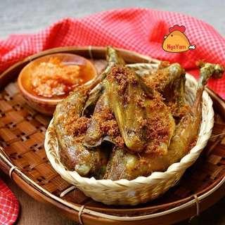 Ayam kecil khas ciamis