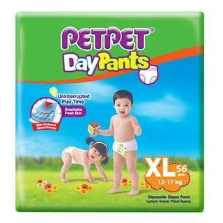 Petpet daypants XL 56 pieces
