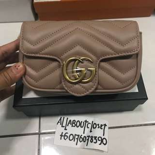 Customer's purchased. Gucci GG mini sling bag