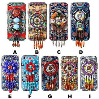Iphone 7 dream catchers beads charms case Cover