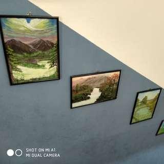 Frame artwork paintings