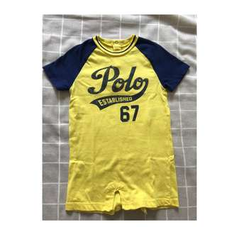 Original Polo Ralph bodysuit for baby boy