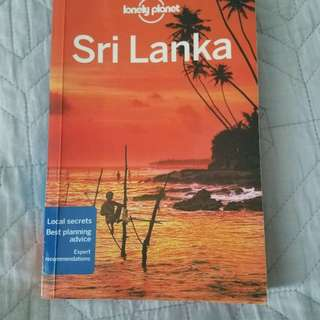 Lonely Planet Sri Lanka - Current version - excellent condition