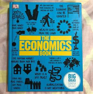 The Economics Book (hard cover)