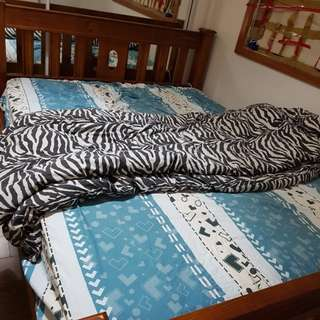 Authentic Timber Queen size bed