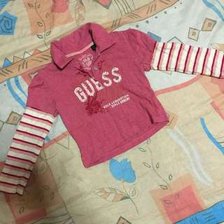 GUESS Kids Long Shirt For Girl