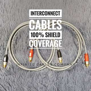PREMIUM INTERCONNECT CABLE - 1.5 METER PAIR