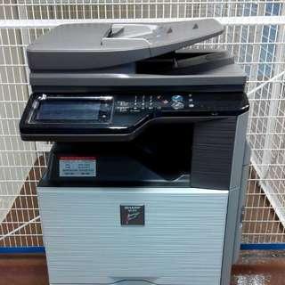 SHARP MX-2614 影印功能 可作Printer使用 夏普 多功能影印機 (黑白/彩色)