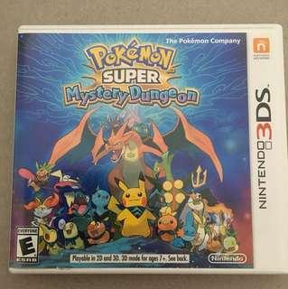 Pokémon super mystery dungeon Nintendo 3DS