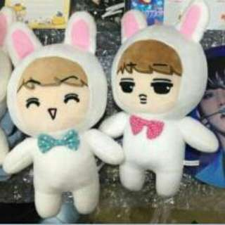 EXO KAI and SEHUN Rabbit Doll