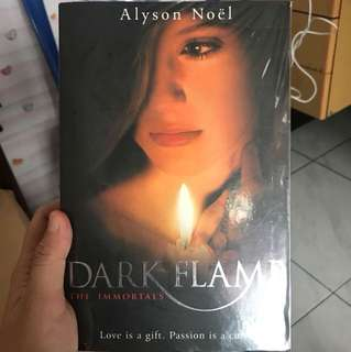 Dark Flame by Alyson Noel The Immortals series English book