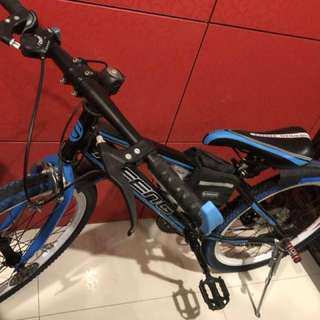 Bicycle new with full accessories 22 inch